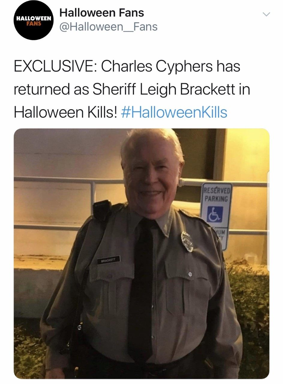 Halloween 2020 Sheriff Sheriff Leigh Brackett Returns in Halloween Kills
